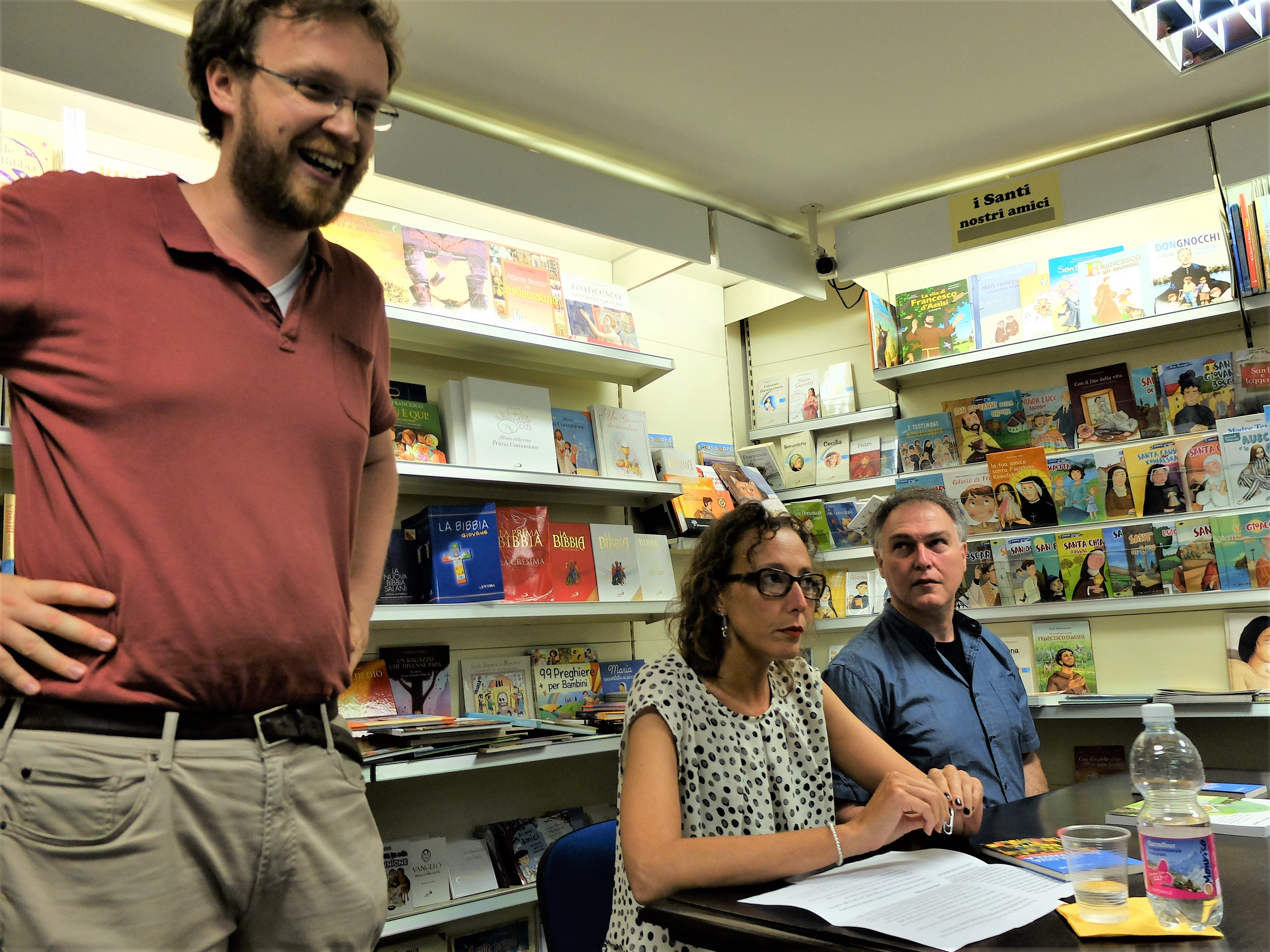 Luca Valenziano, direttore della Libreria San Paolo