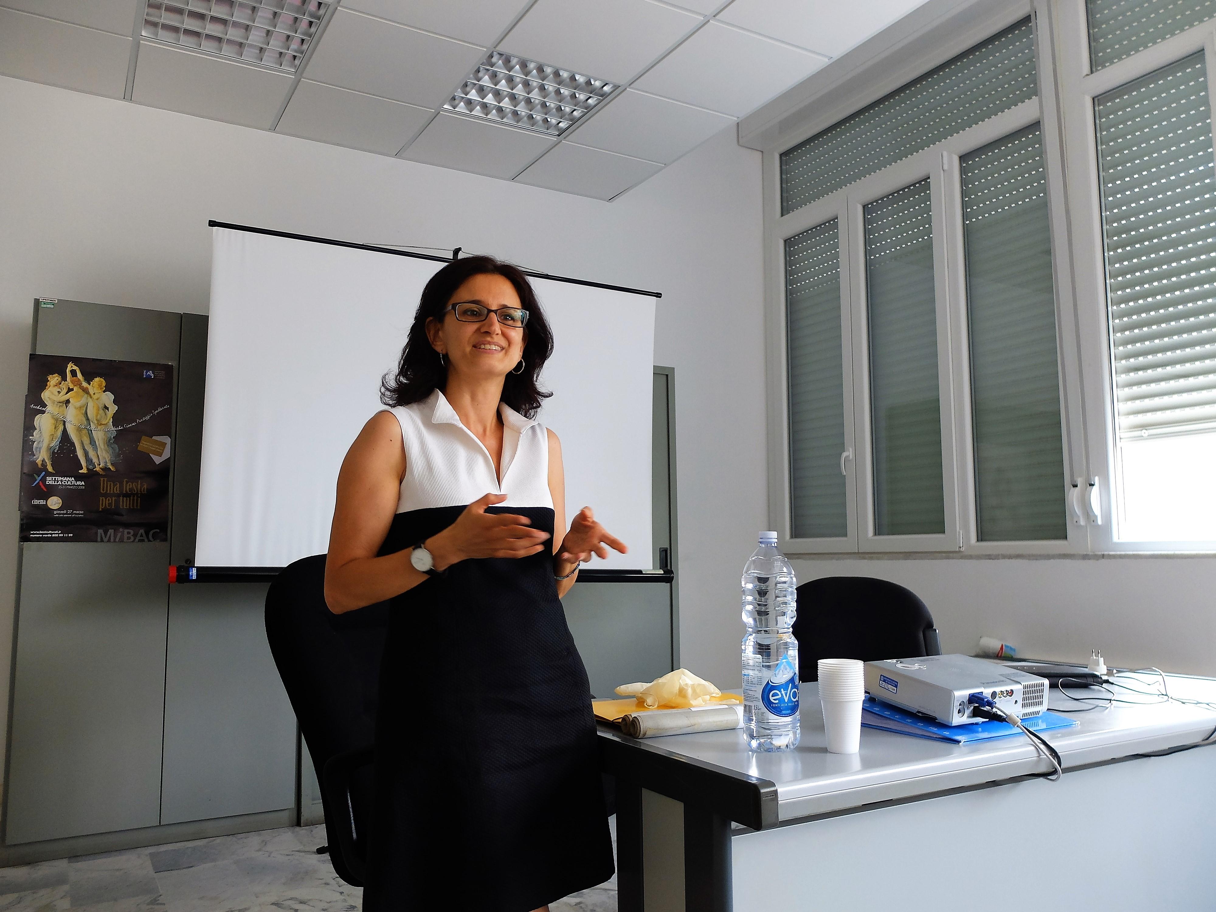 Francesca Mambrini, direttrice dell