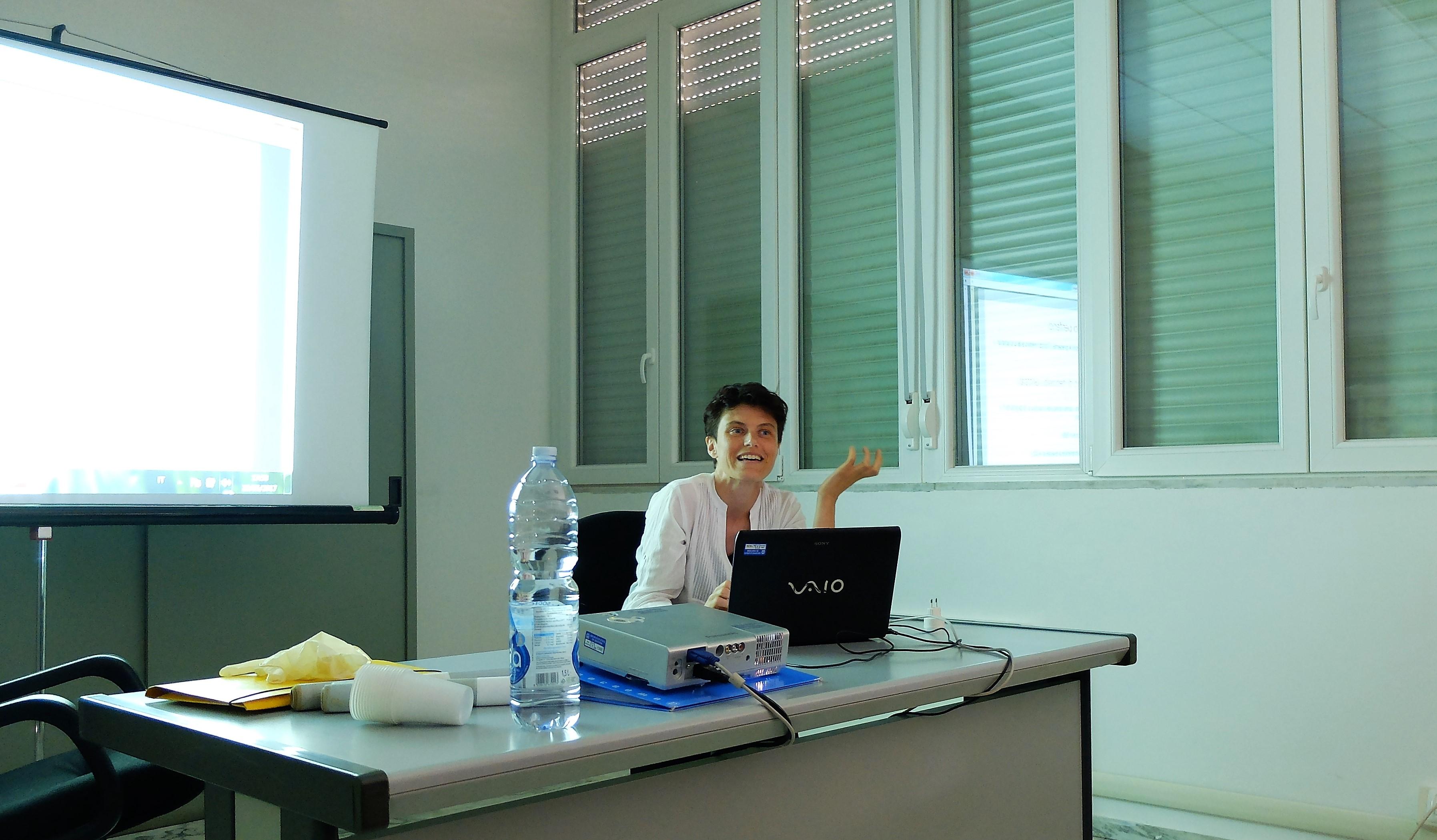 Lorenzana Bracciotti, Archivista presso l