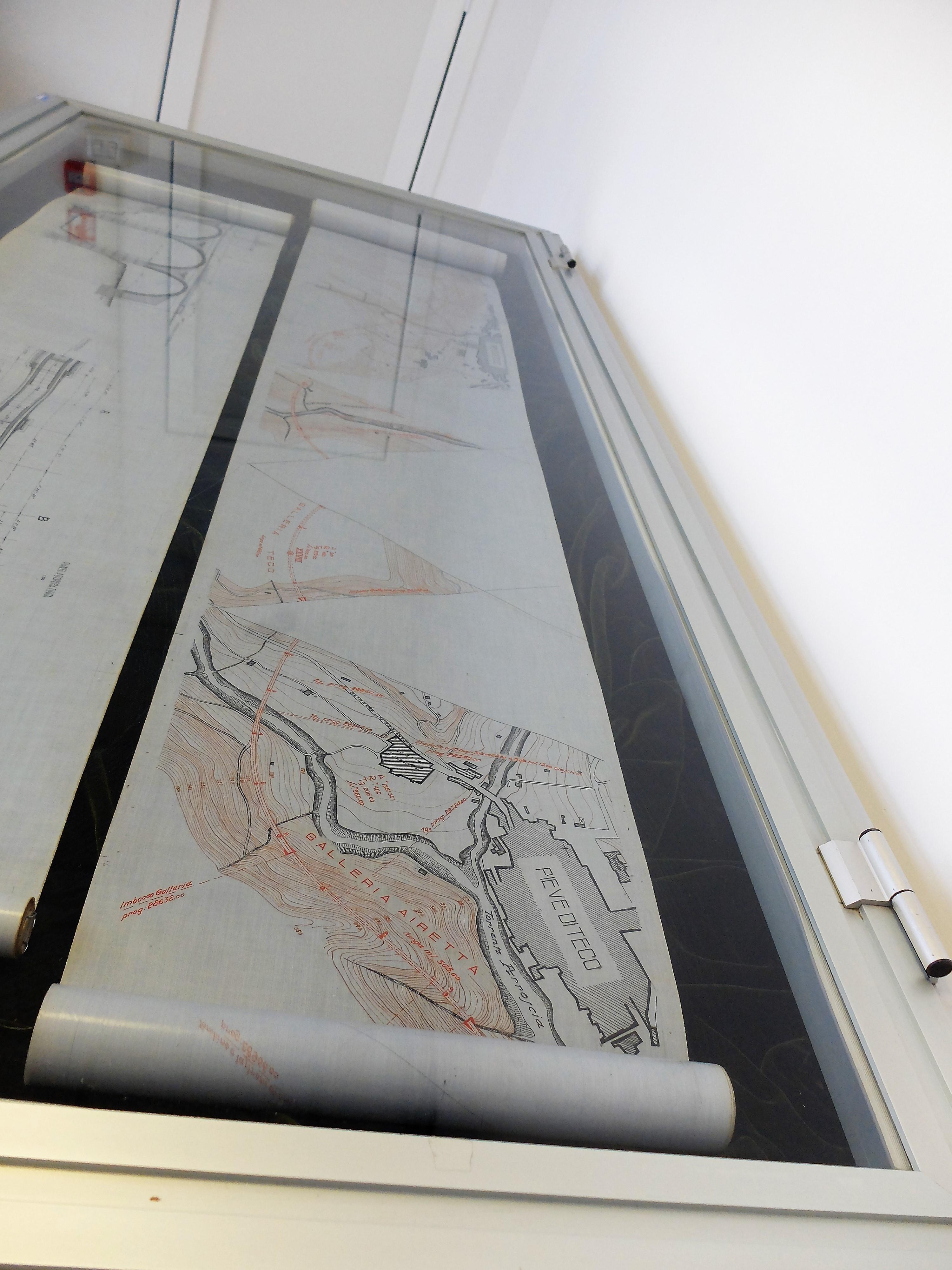 Il fondo Nuove Costruzioni Ferroviarie, in fase di riordino a cura di Lorenzana Bracciotti.Planimetria della linea Imperia-Garessio (mai costruita